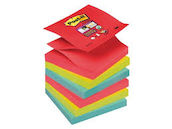 Viestilappu Super Sticky Z-Notes 6 nid p - Viestilaput 76 x 76 mm (654) - 8887500003616 - 1