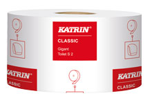 WC-paperi KATRIN Classic Gigant S 12 rll - Wc-paperit annostelijoihin - 112950051009 - 2